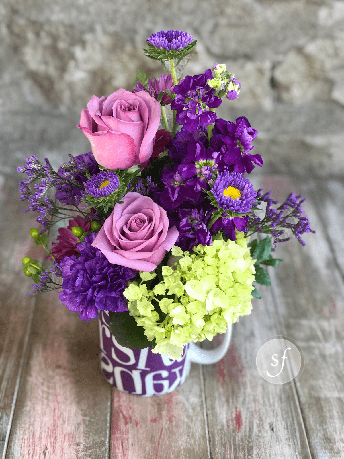 purple pride best sellers flower collection gift ideas for under