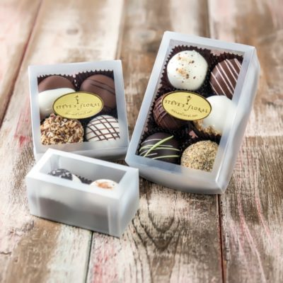Two, four, or six packs of locally crafted, artisan chocolate from Granada Sweets in Emporia, Kansas available from Steve's Floral in Manhattan, KS.