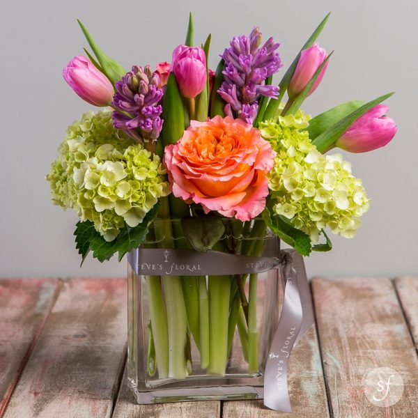Spring flowers perfect for Mother's Day, graduation, or Easter gifts.