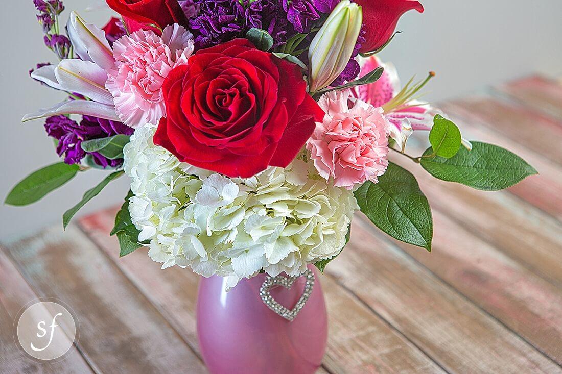 Crystal Vase Brooch Gift Shop Steve S Floral