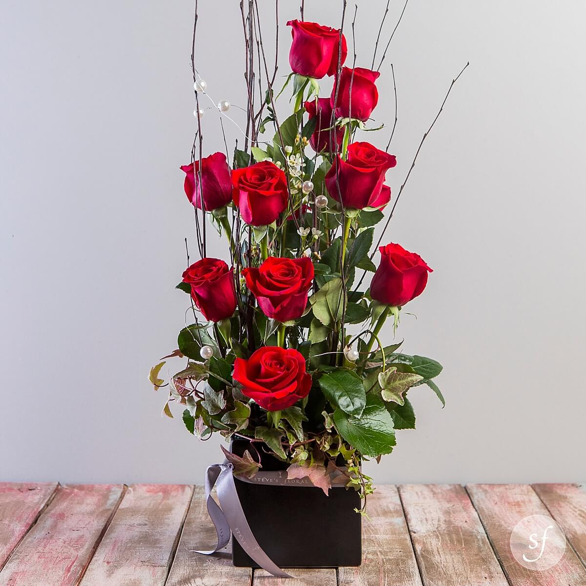 ... Stairway To Heaven Is A Modern, Romantic Flower Arrangement That Is  Perfect For An Anniversary