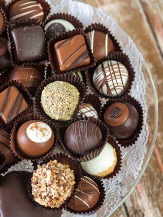 Gourmet chocolates and truffles