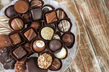 Gourmet chocolates and truffles