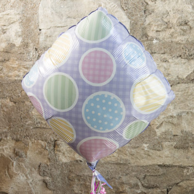 New baby themed mylar balloon