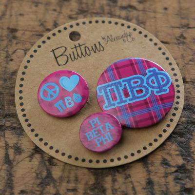 Pi Beta Phi Buttons