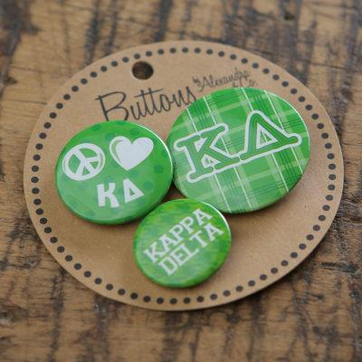 Kappa Delta Buttons