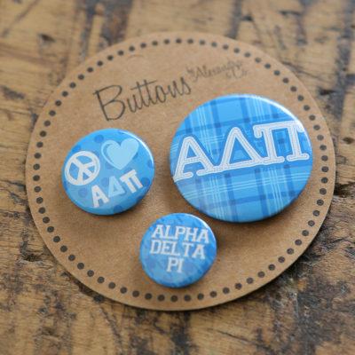 Alpha Delta Pi Buttons